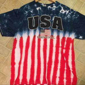 USA Washington D.C tie dye Sz.XL